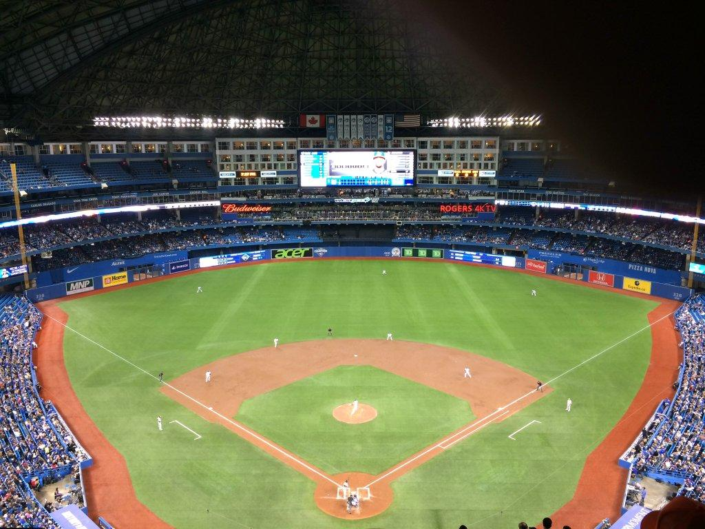 Rogers Centre Section 524AL Row 20 Seat 110
