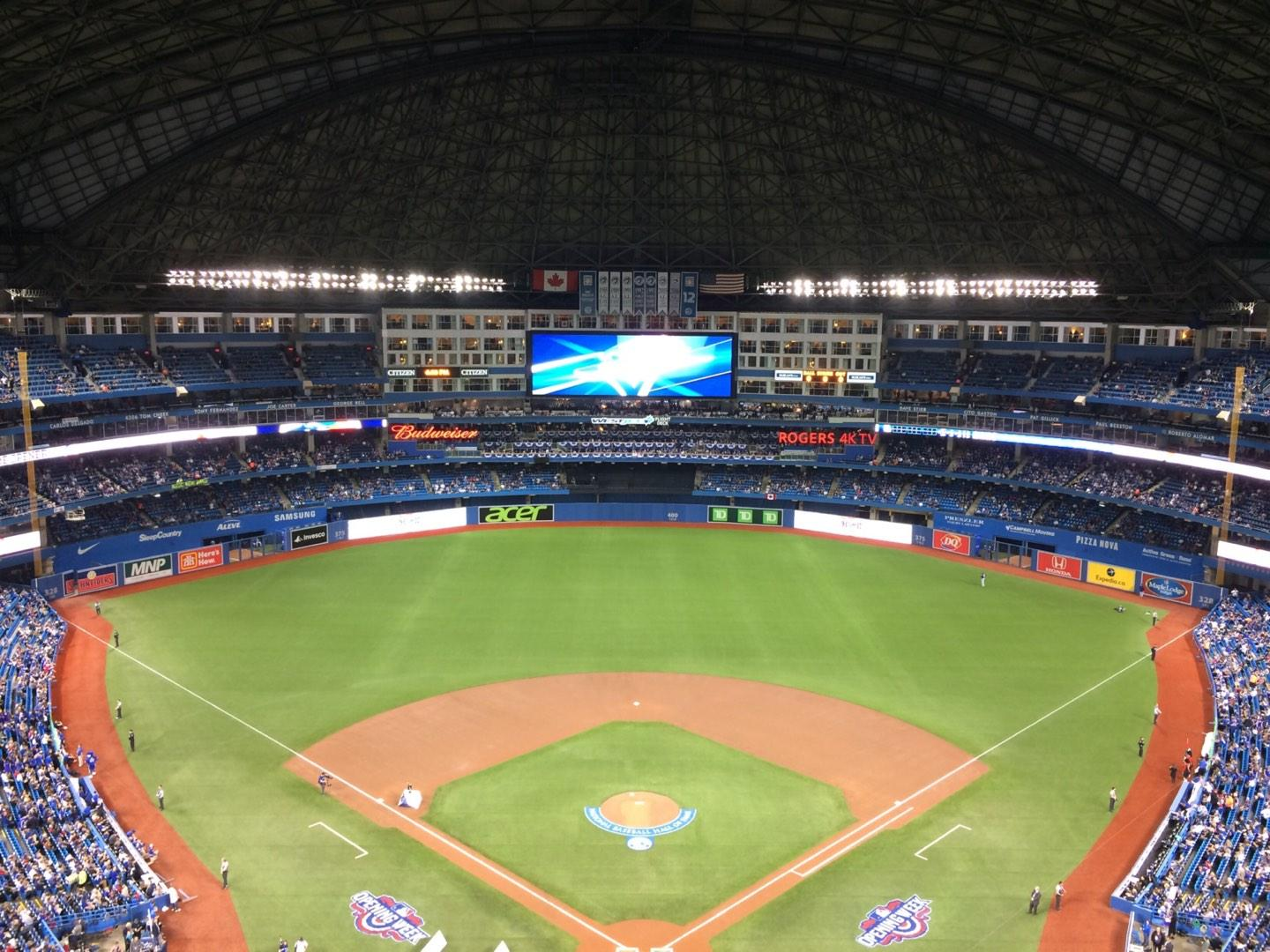 Rogers Centre Section 524BR Row 22 Seat 9