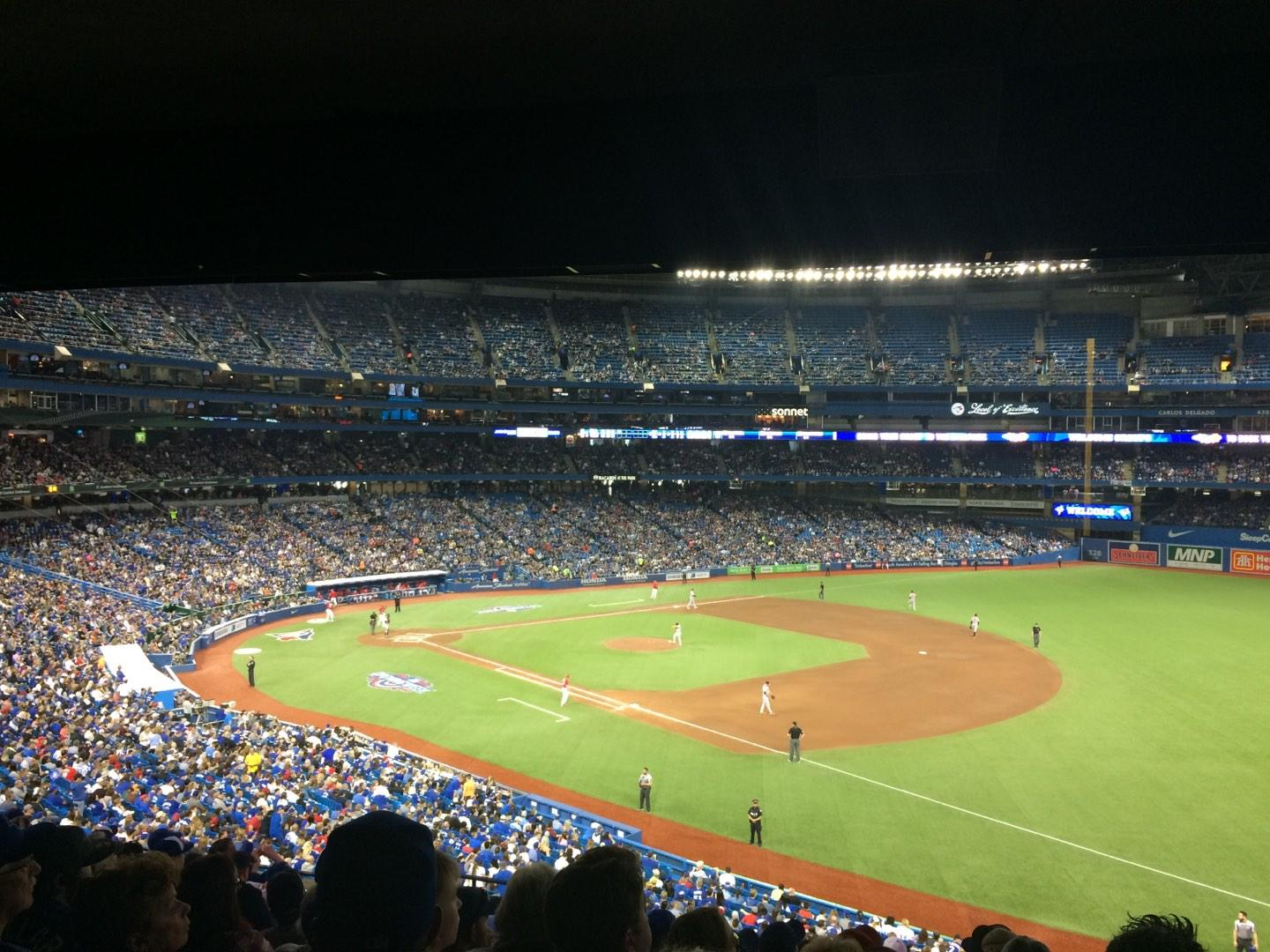 Rogers Centre Section 214R Row 12 Seat 5
