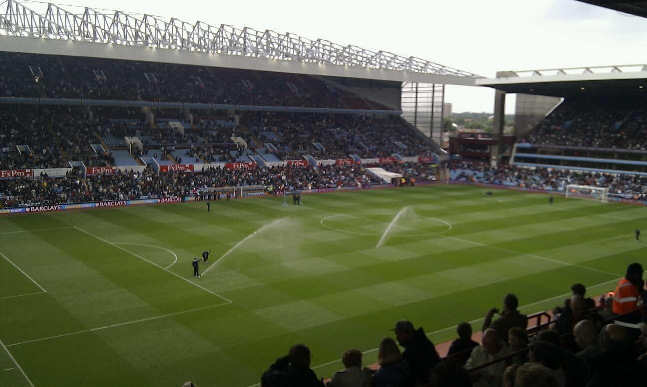 Villa Park Section p1 Row ll Seat 37