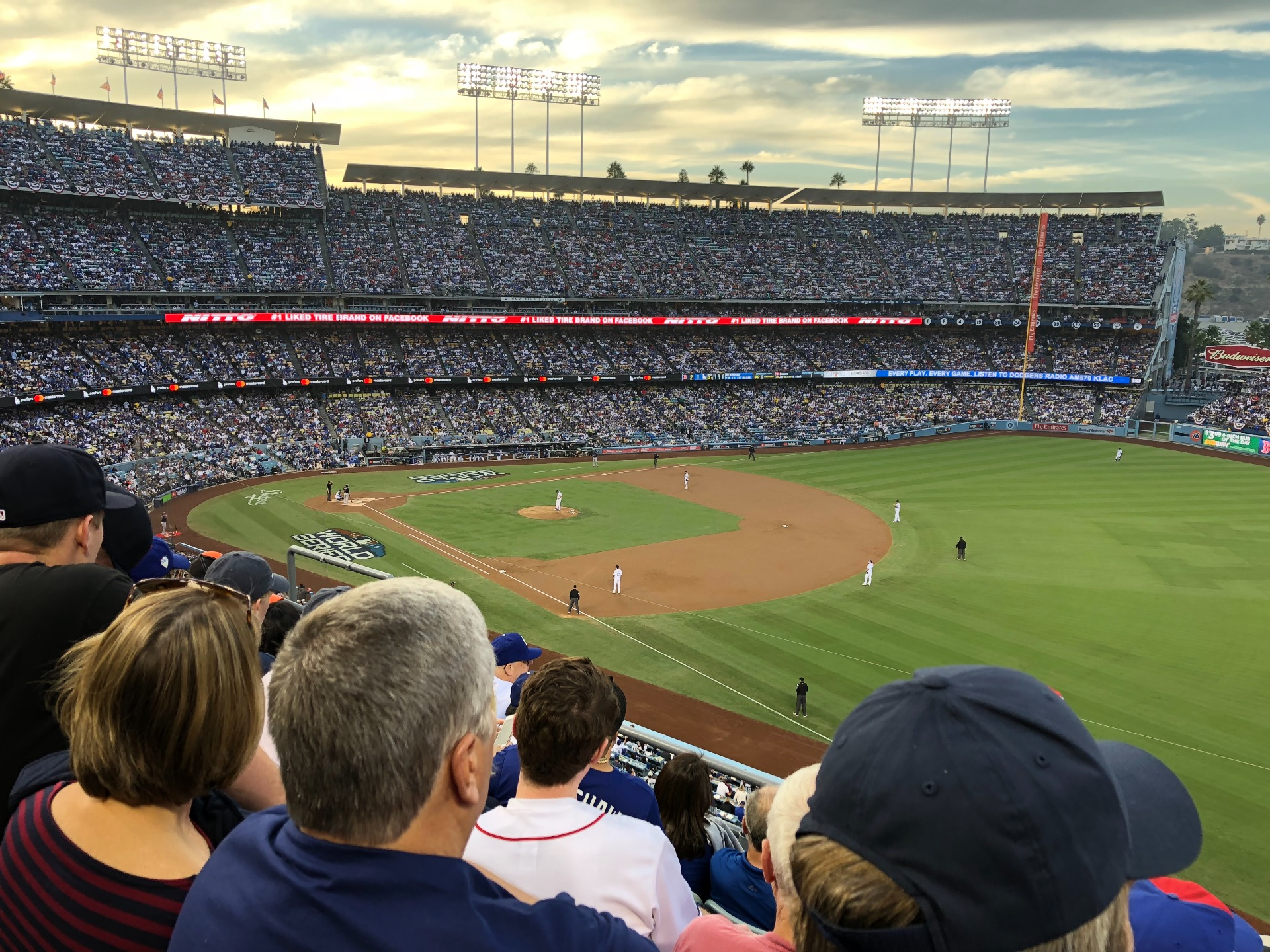 Dodger Stadium Section 40RS Row E Seat 11