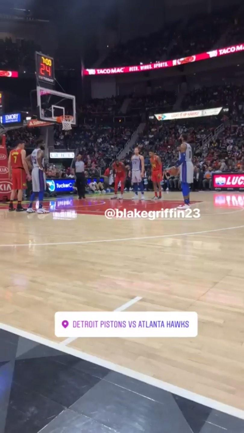 State Farm Arena Section 108 Row Aaa Seat 25 Atlanta Hawks Vs Detroit Pistons Shared By Vjimmy30
