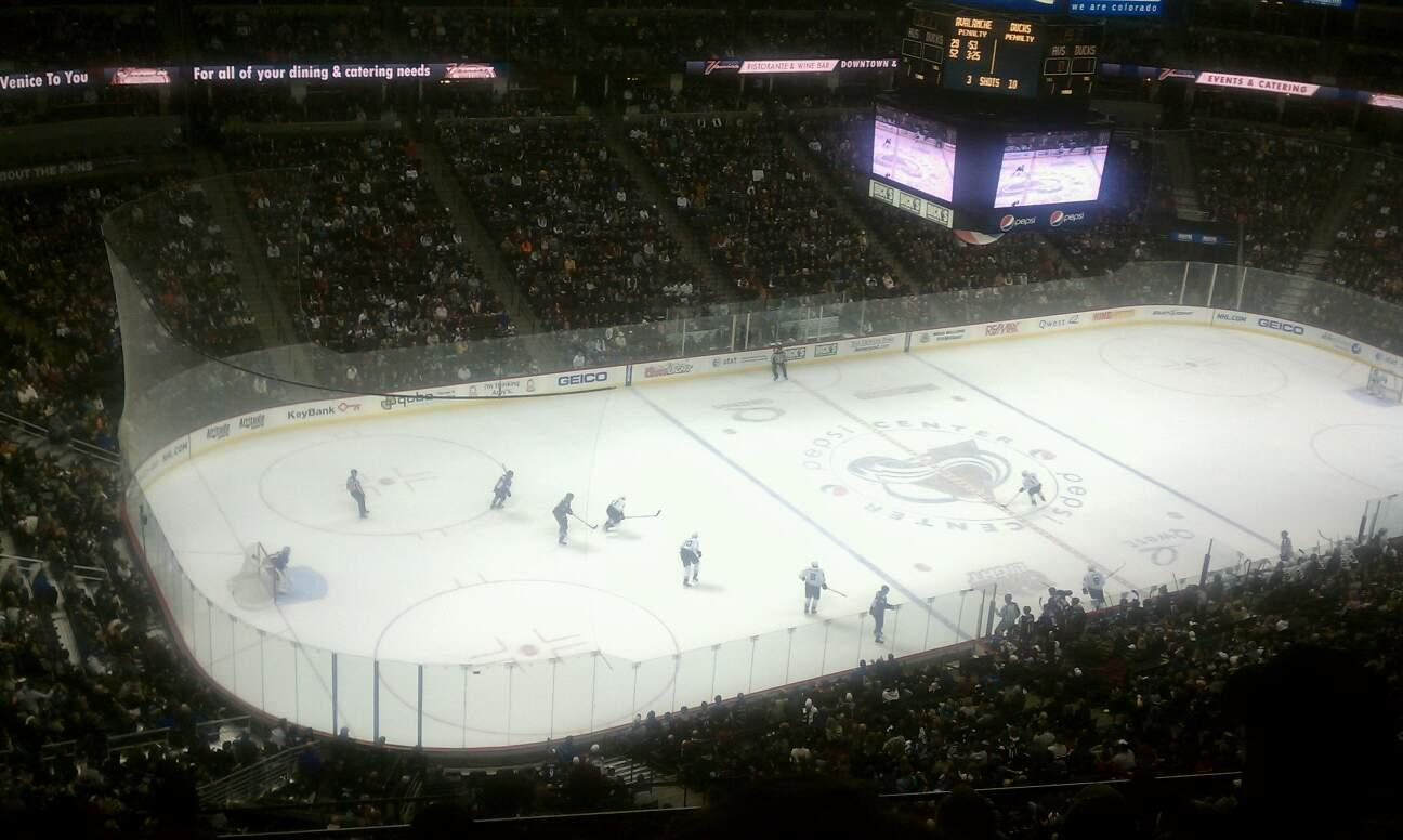 Pepsi Center Section 310 Row 11 Seat 11