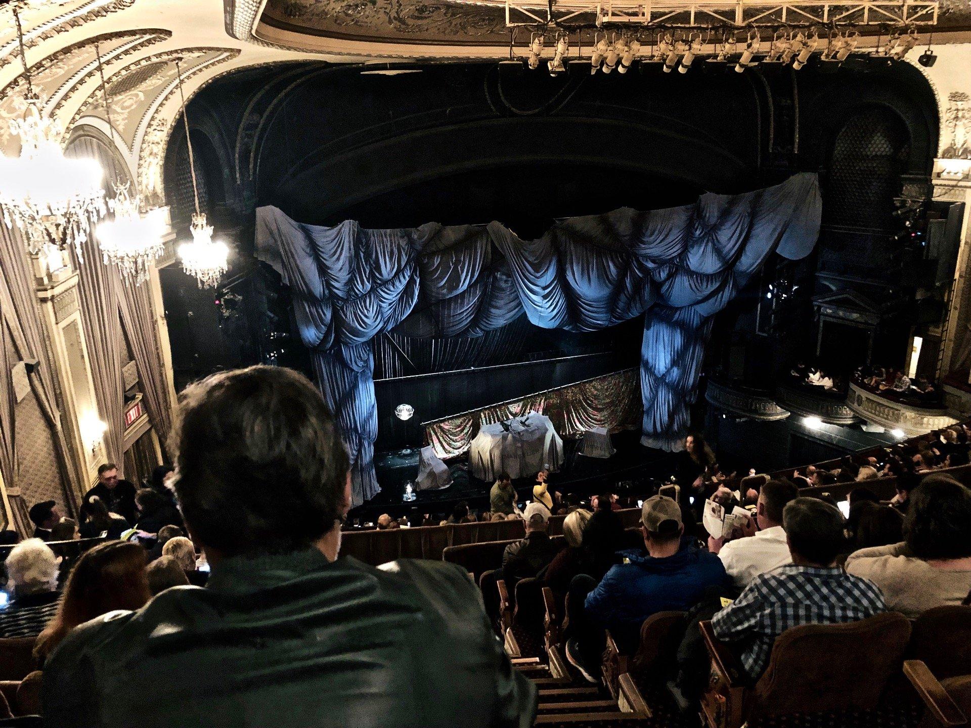 Majestic Theatre Section Rear Mezzanine L Row H Seat 1