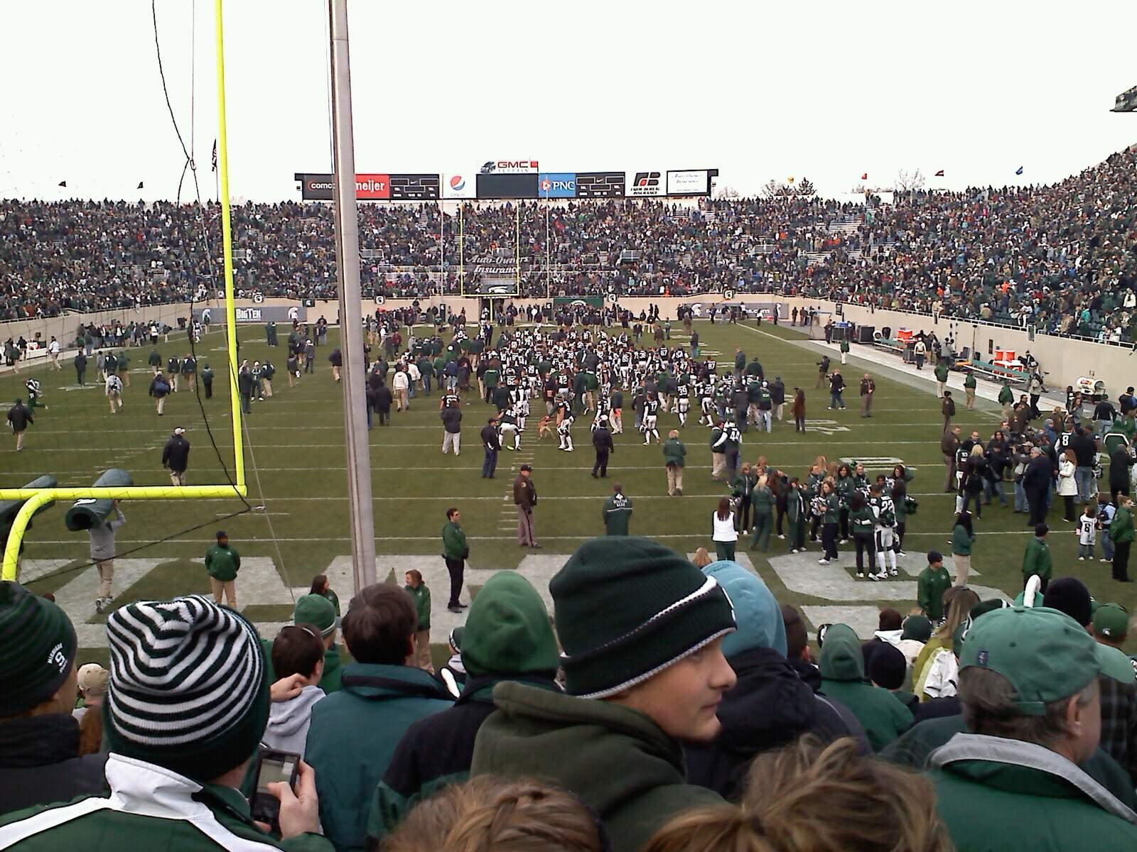 Spartan Stadium Section 16 Row 16 Seat 21
