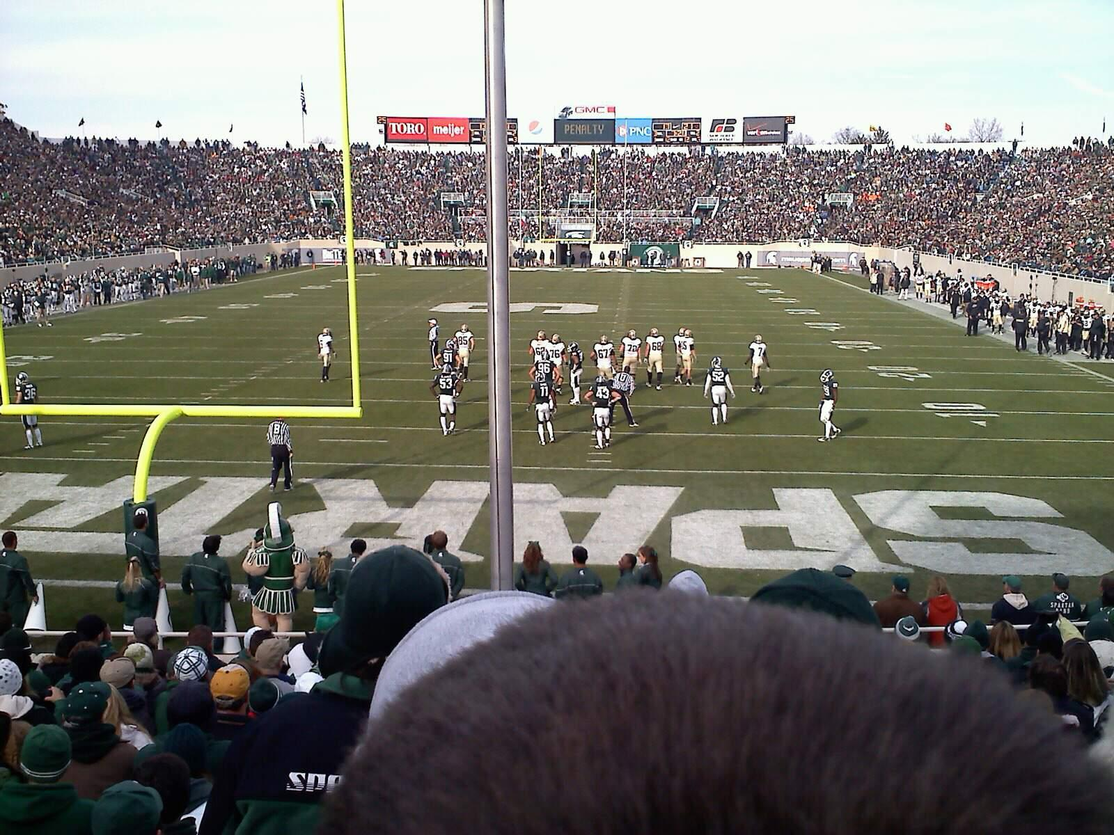 Spartan Stadium Section 16 Row 16 Seat 21
