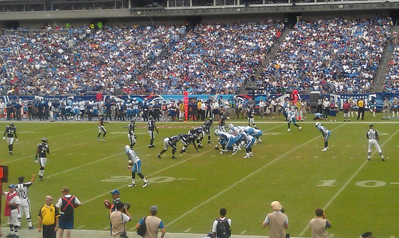 Don Franklin Nissan >> Nissan Stadium Section 109 - Tennessee Titans ...