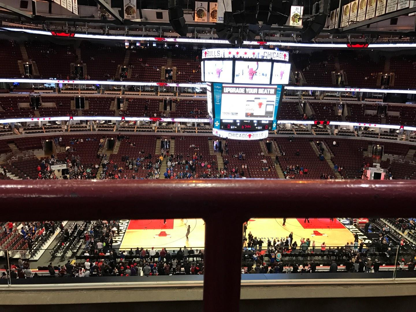 United Center Section 318 Row 3A Seat 12