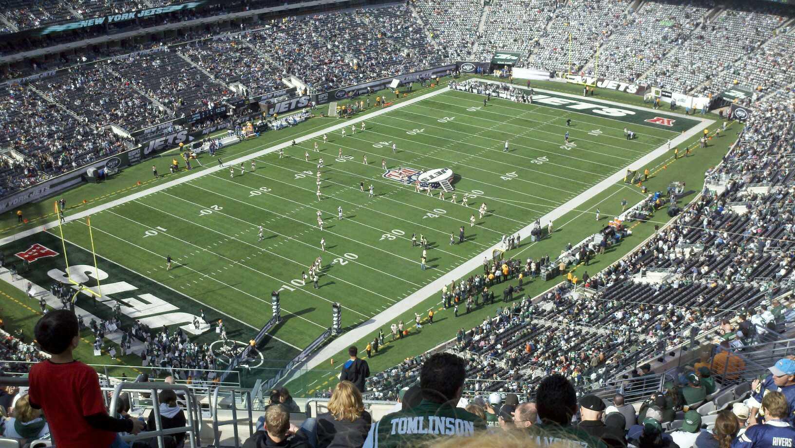 Metlife Stadium Section 320 Row 22 Seat 36 New York Jets