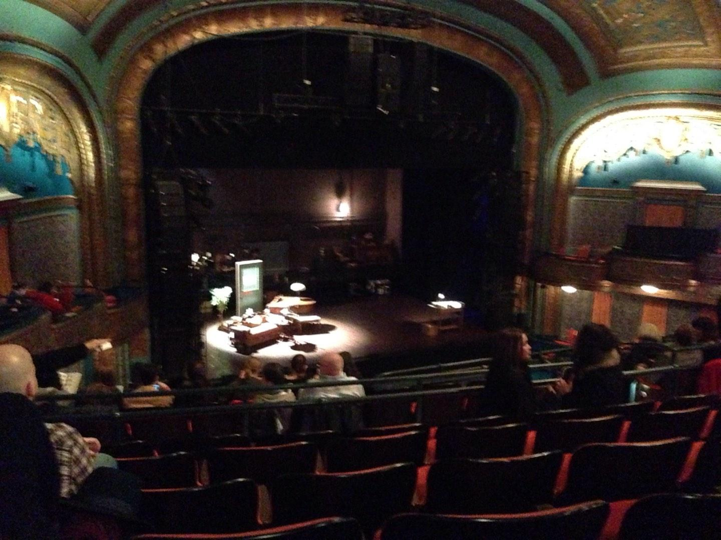Curran Theater Section Mezzanine Row H Seat 19