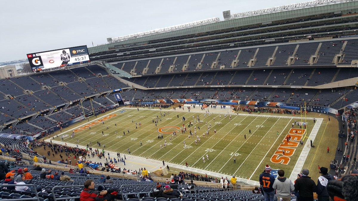Soldier Field Section 431 Row 30 Seat 11