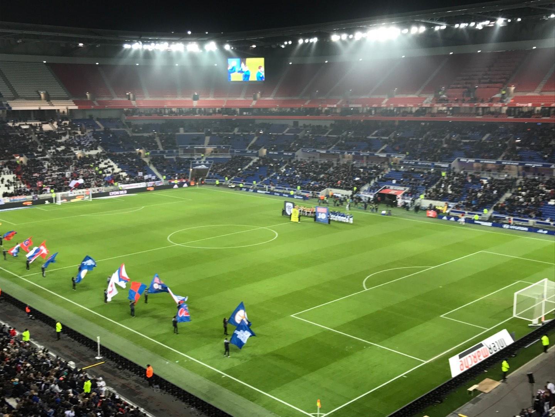 Parc Olympique Lyonnais Section 401 Row 2 Seat 1
