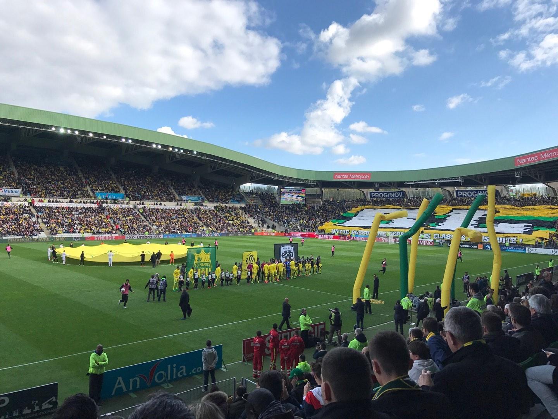 Stade de la Beaujoire Section Presidentielle Row O Seat 205