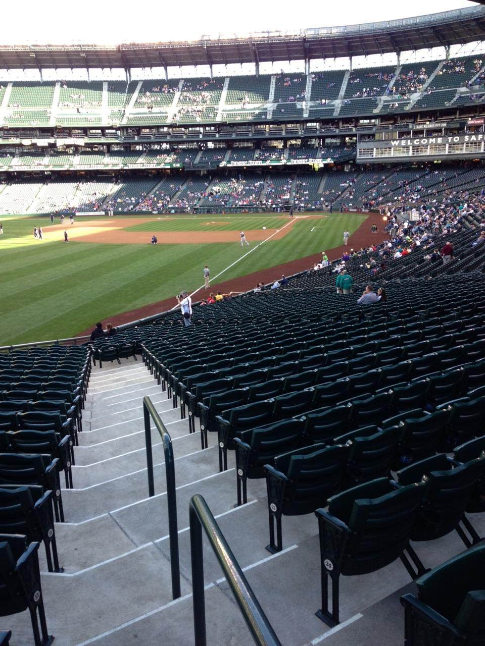 SafeCo Field section 150 row 35 seat 34 - Seattle Mariners ...