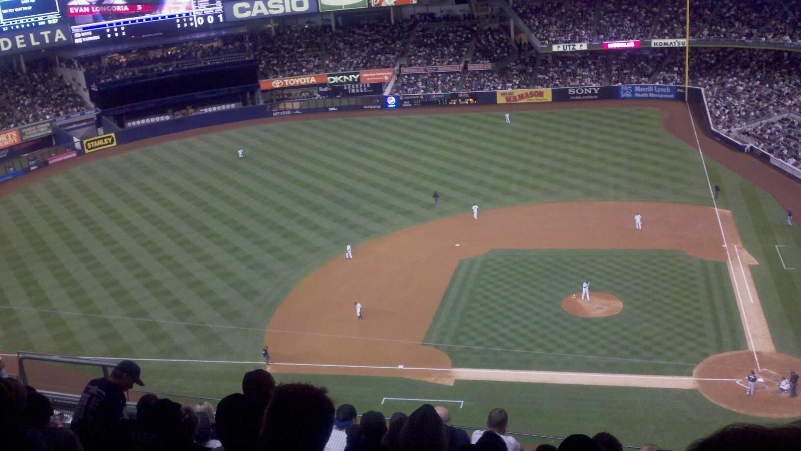 Yankee Stadium Section 326 Row 2 Seat 20