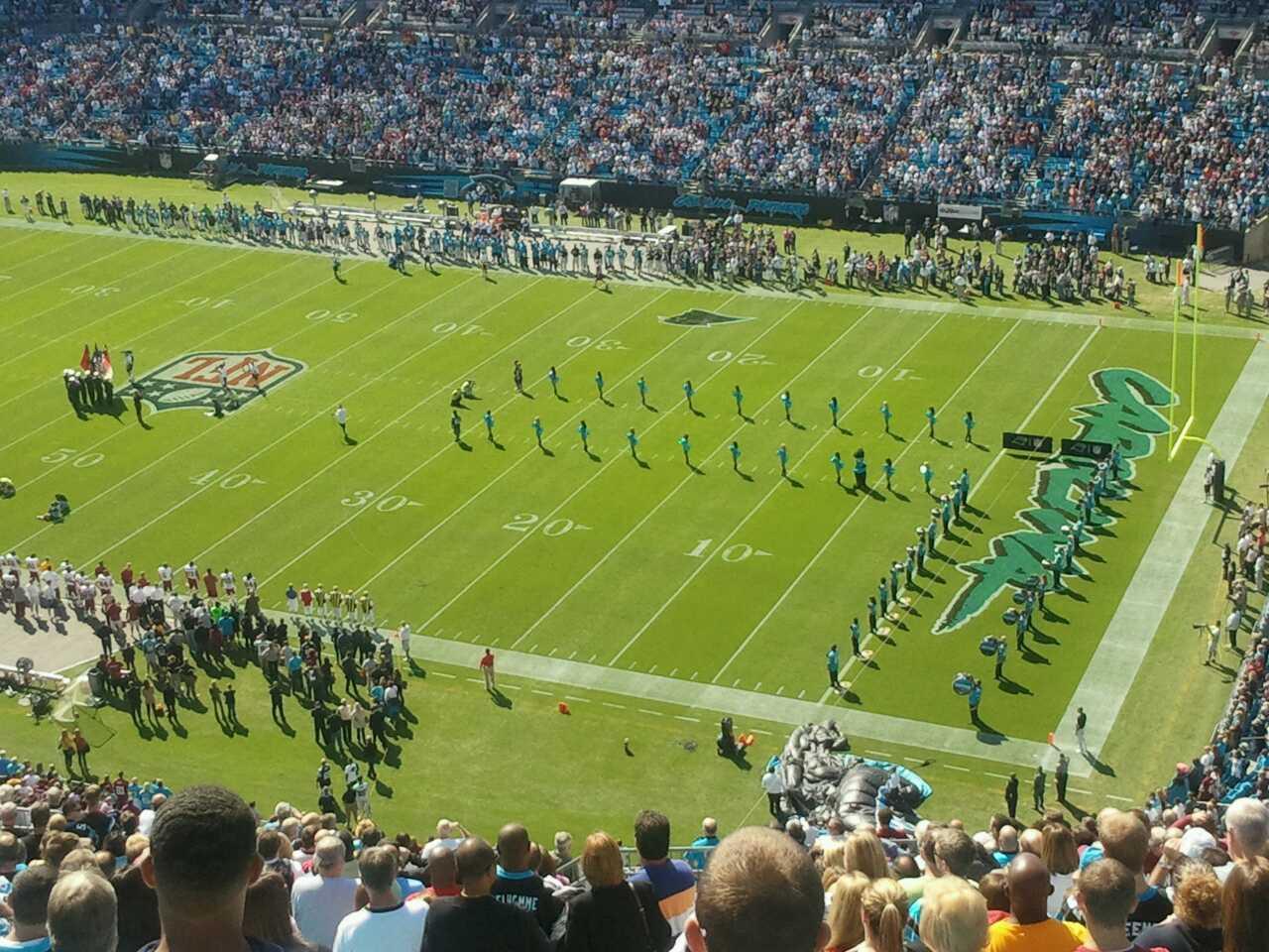 Bank of America Stadium Section 509