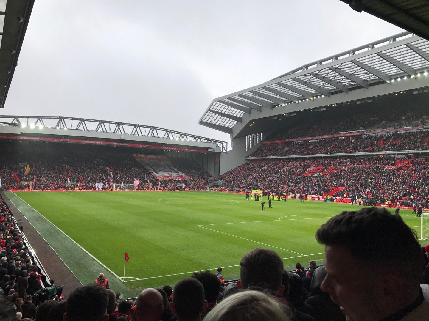 Anfield Section 127 Row 20 Seat 193
