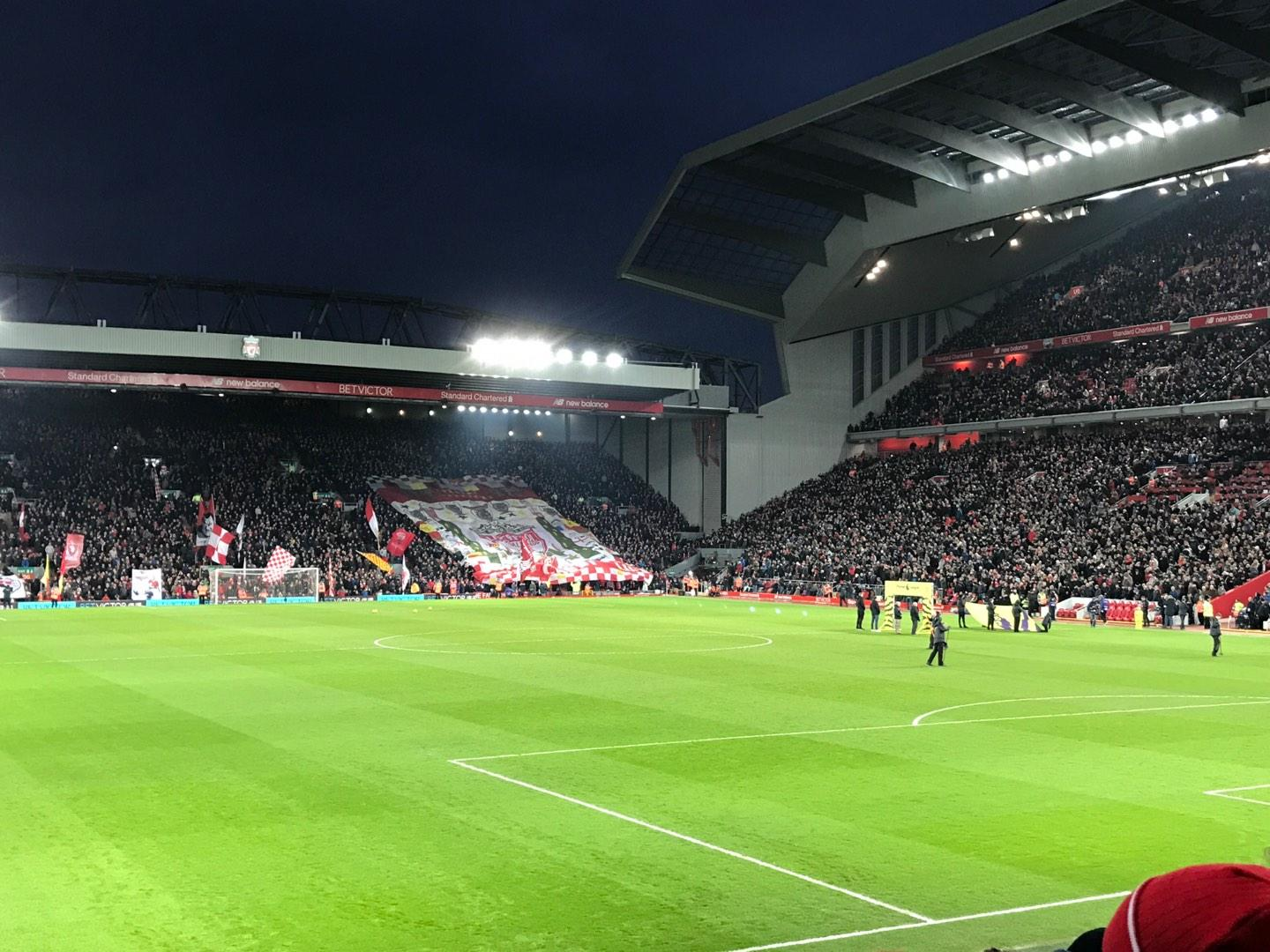 Anfield Section 127 Row 17 Seat 178