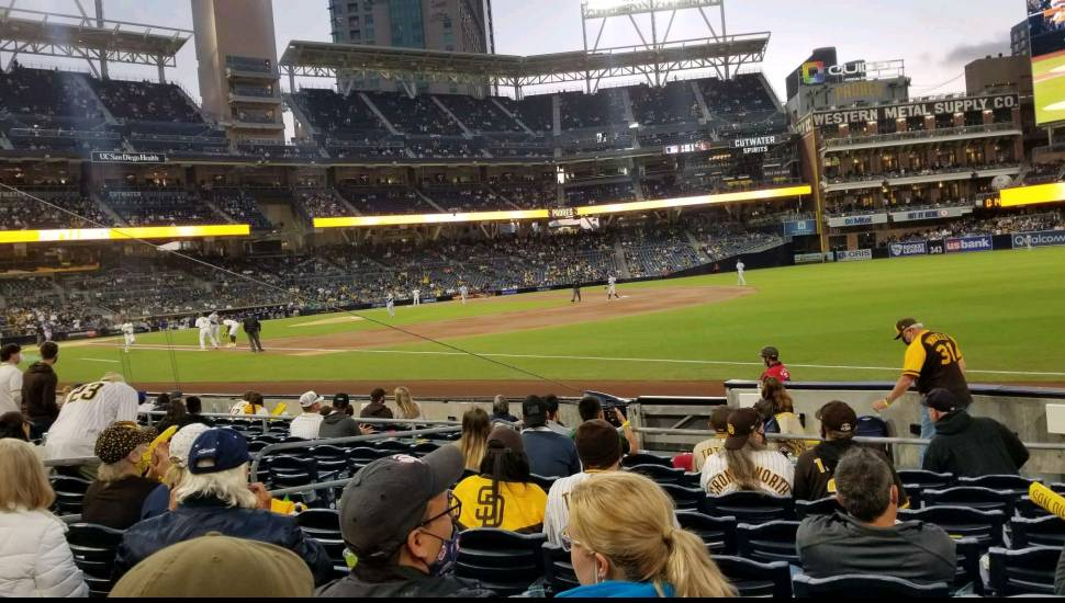 PETCO Park,  Section <strong>133</strong>, Row <strong>38</strong>, Seat <strong>6</strong>