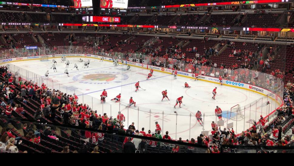 United Center,  Section <strong>33</strong>, Row <strong>O</strong>, Seat <strong>6</strong>