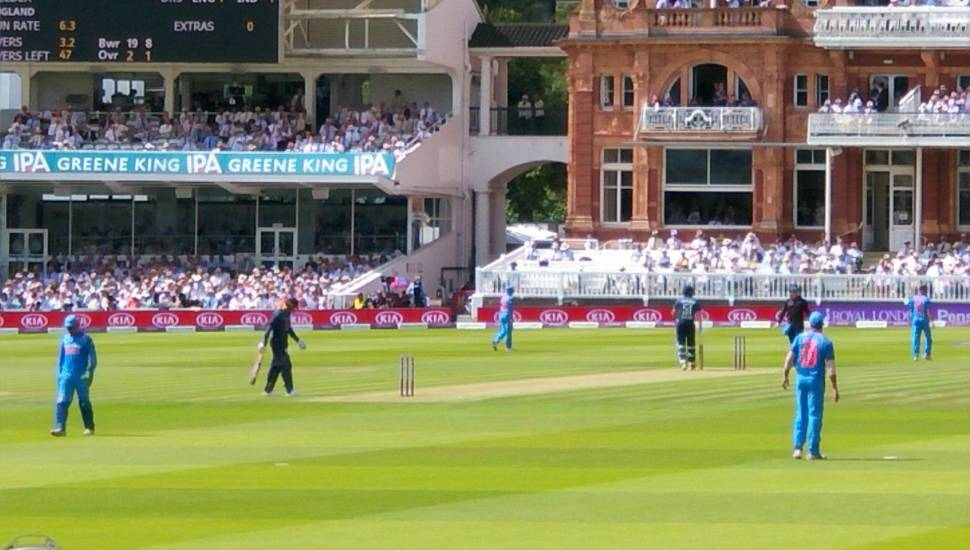 Lord's Cricket Ground,  Section <strong>GA</strong>