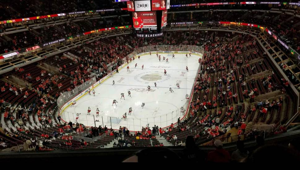 United Center,  Section <strong>2H</strong>, Row <strong>33</strong>, Seat <strong>114</strong>