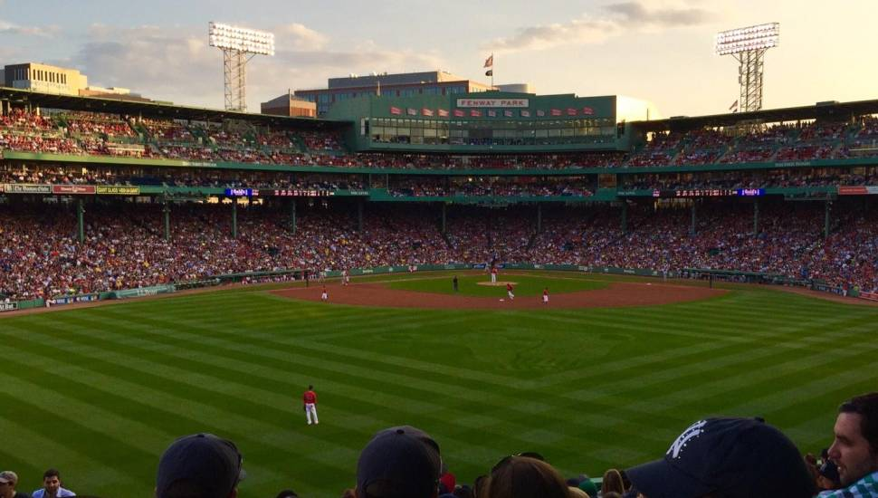 Fenway Park,  Section <strong>56</strong>, Row <strong>21</strong>, Seat <strong>8</strong>