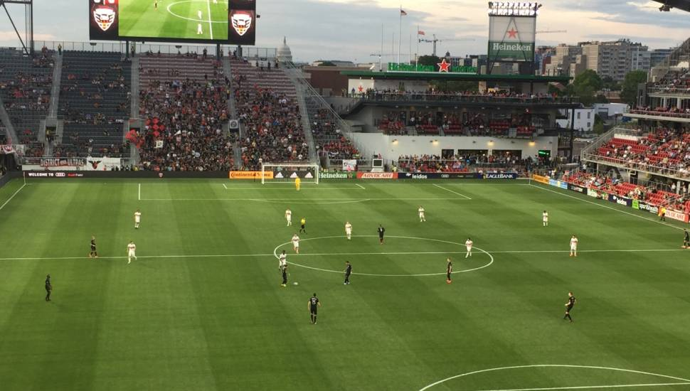 Audi Field,  Section <strong>2</strong>, Row <strong>O</strong>, Seat <strong>2</strong>