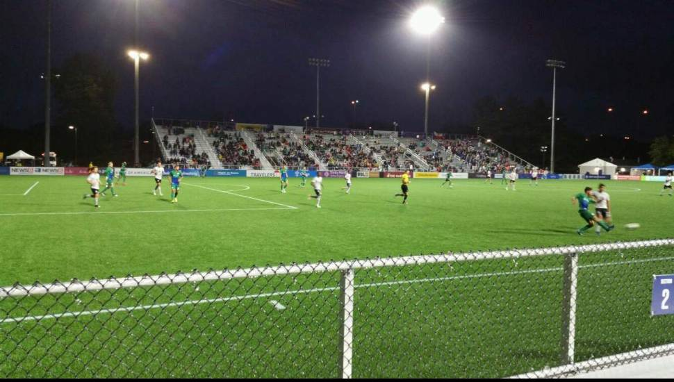 Dillon Stadium,  Section <strong>111</strong>, Row <strong>N</strong>, Seat <strong>1</strong>