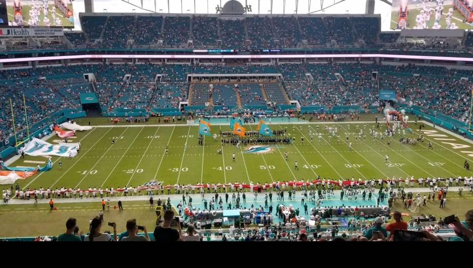 Hard Rock Stadium,  Section <strong>116</strong>, Row <strong>K</strong>, Seat <strong>13</strong>