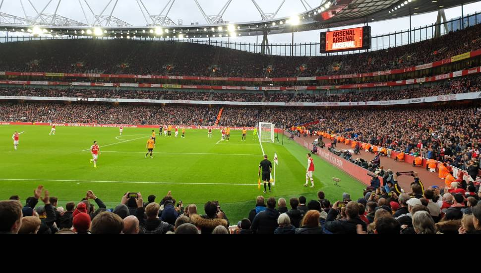 Emirates Stadium,  Section <strong>214</strong>, Row <strong>X</strong>, Seat <strong>6</strong>