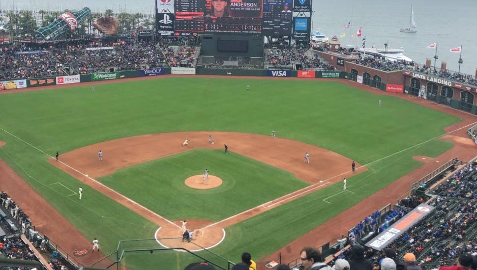 Oracle Park,  Section <strong>119</strong>, Row <strong>S</strong>, Seat <strong>18</strong>