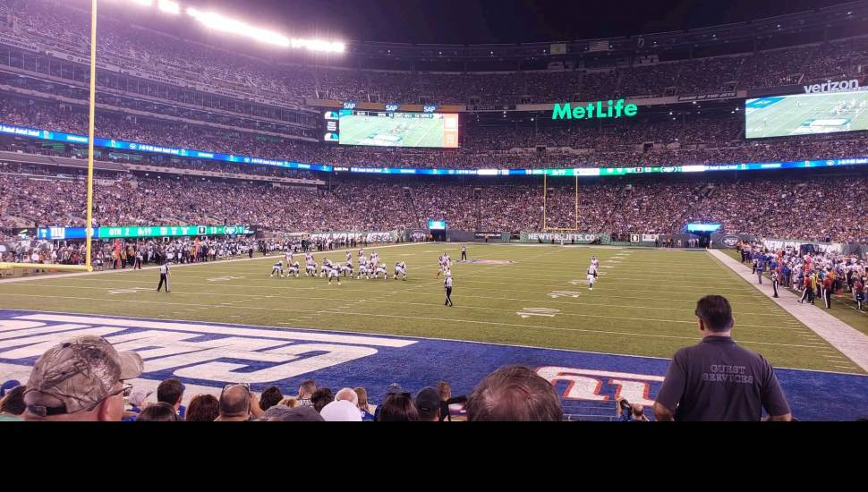 MetLife Stadium,  Section <strong>2</strong>, Row <strong>C</strong>, Seat <strong>213</strong>