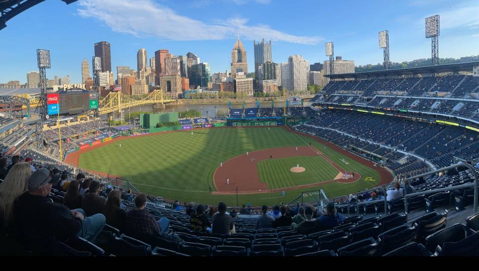 PNC Park,  Section <strong>118</strong>, Row <strong>11</strong>, Seat <strong>6</strong>