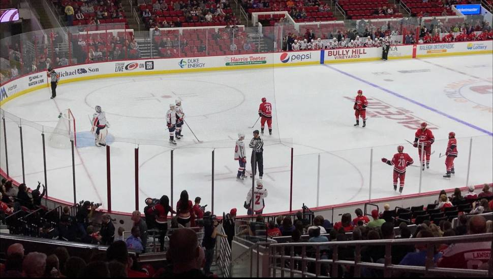 PNC Arena,  Section <strong>Box Tier</strong>, Row <strong>32</strong>, Seat <strong>1</strong>