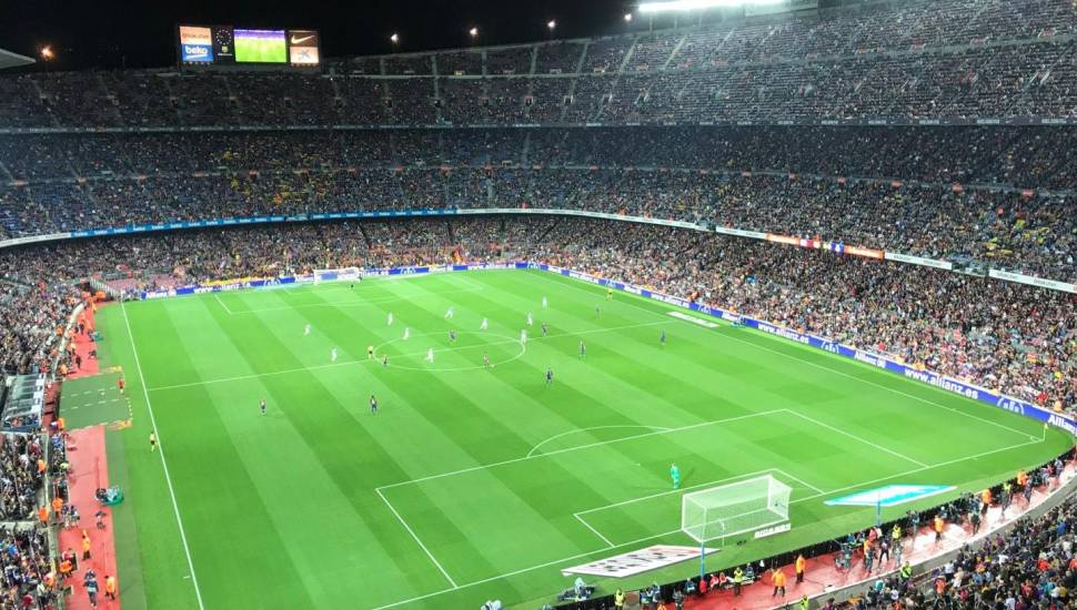 Camp Nou,  Section <strong>140</strong>, Row <strong>21</strong>, Seat <strong>12</strong>