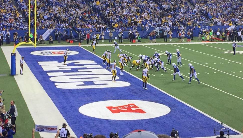Lucas Oil Stadium,  Section <strong>205</strong>, Row <strong>2</strong>, Seat <strong>16</strong>