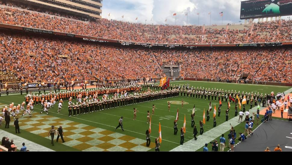 Neyland Stadium,  Section <strong>326</strong>, Row <strong>C</strong>, Seat <strong>9</strong>