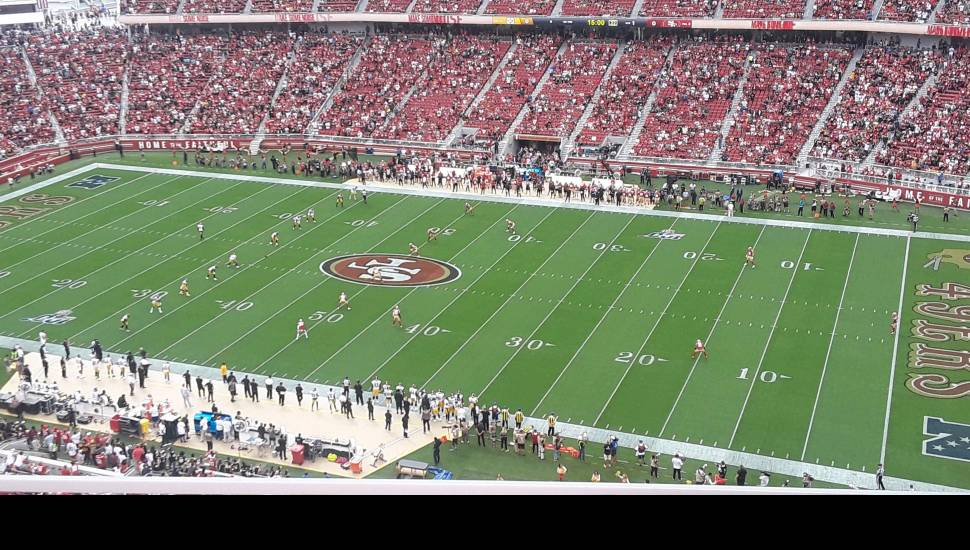 Levi's Stadium,  Section <strong>STH121</strong>, Row <strong>17</strong>, Seat <strong>237</strong>