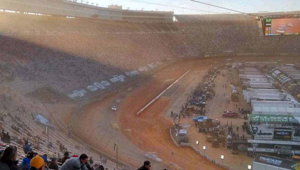 Bristol Motor Speedway,  Section <strong>216</strong>, Row <strong>9</strong>, Seat <strong>12</strong>