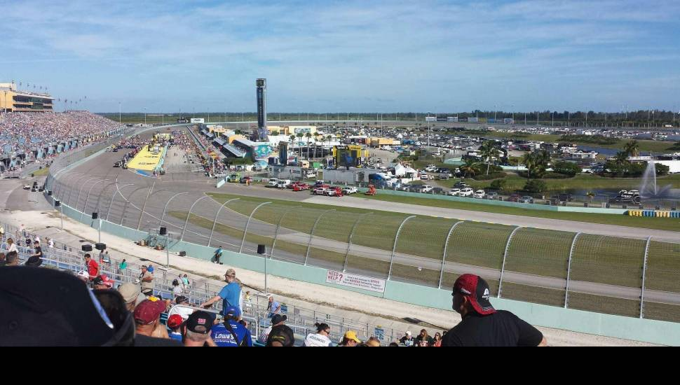Homestead Miami Speedway Section 184 Row 44 Seat 3