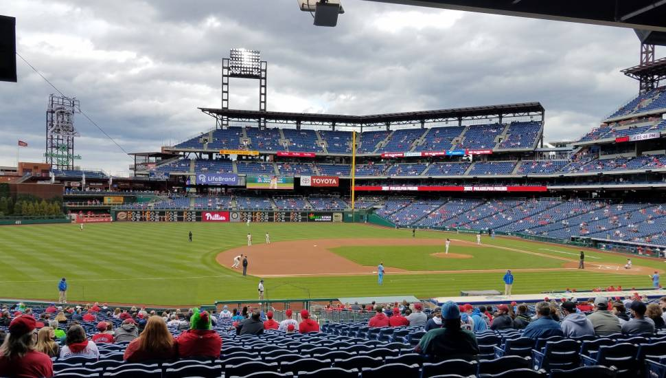 Citizens Bank Park,  Section <strong>Field Box 24</strong>, Row <strong>10</strong>, Seat <strong>6</strong>