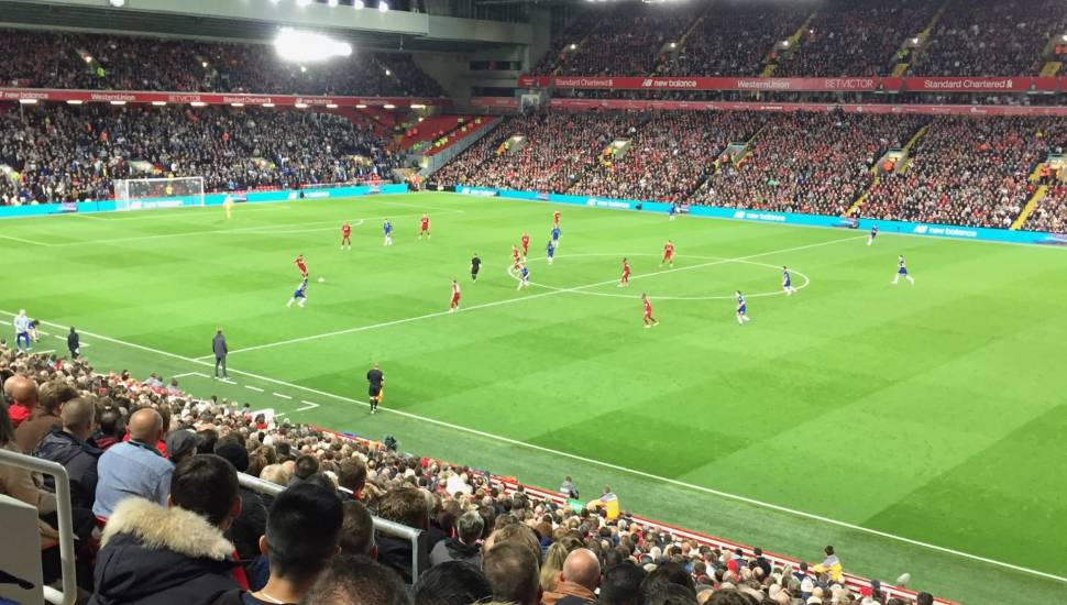 Anfield,  Section <strong>18-1</strong>, Row <strong>KK</strong>, Seat <strong>384</strong>