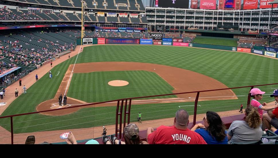 Globe Life Park in Arlington,  Section <strong>116</strong>, Row <strong>N</strong>, Seat <strong>7</strong>