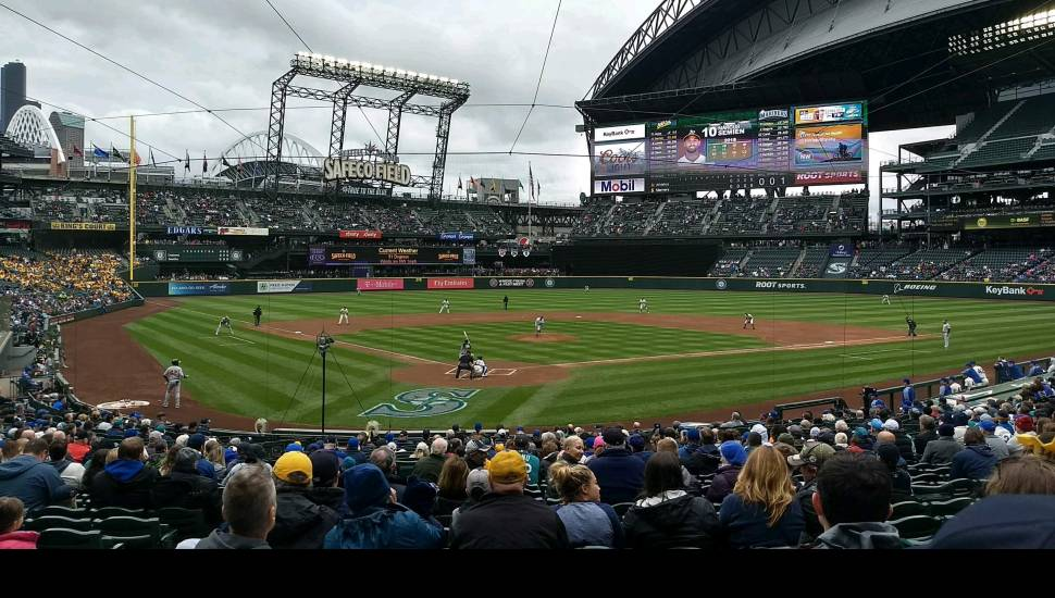 Safeco Field,  Section <strong>Loge 7</strong>, Row <strong>22</strong>, Seat <strong>2</strong>