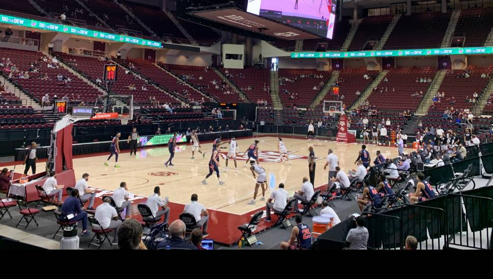 Reed Arena,  Section <strong>303</strong>, Row <strong>C</strong>, Seat <strong>6</strong>
