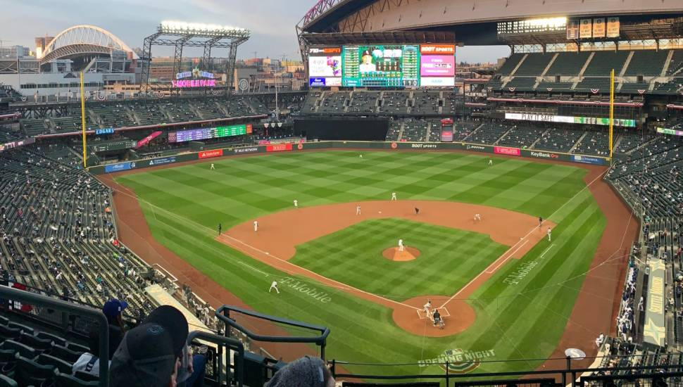 T-Mobile Park,  Section <strong>319</strong>, Row <strong>C</strong>, Seat <strong>1</strong>