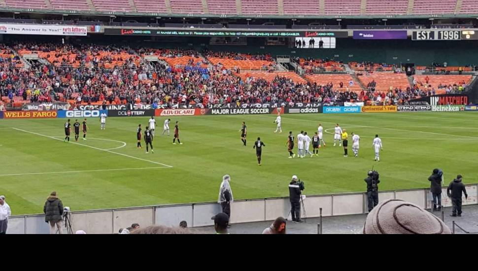 RFK Stadium,  Section <strong>119</strong>, Row <strong>21</strong>, Seat <strong>4</strong>