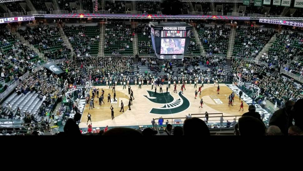 Breslin Center,  Section <strong>135</strong>, Row <strong>14</strong>, Seat <strong>19</strong>