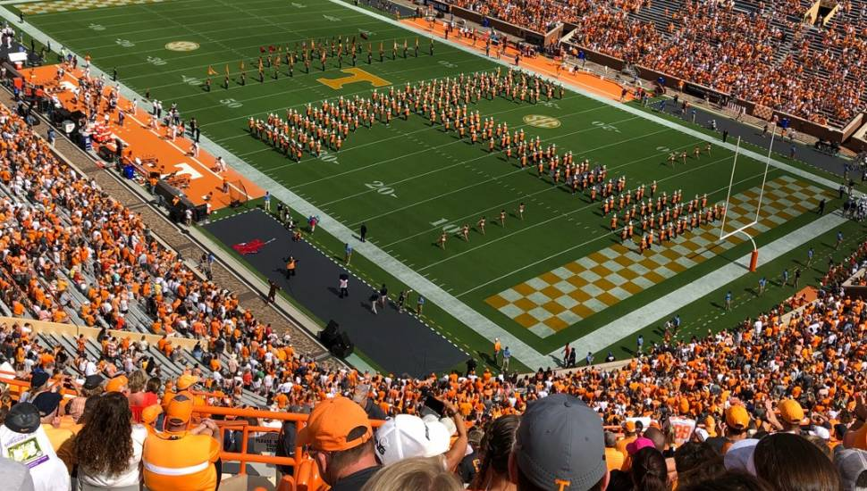 Neyland Stadium,  Section <strong>312</strong>, Row <strong>2</strong>, Seat <strong>12</strong>